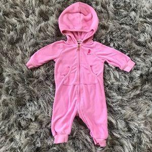Juicy Couture baby onesie 0-3 months. Footless